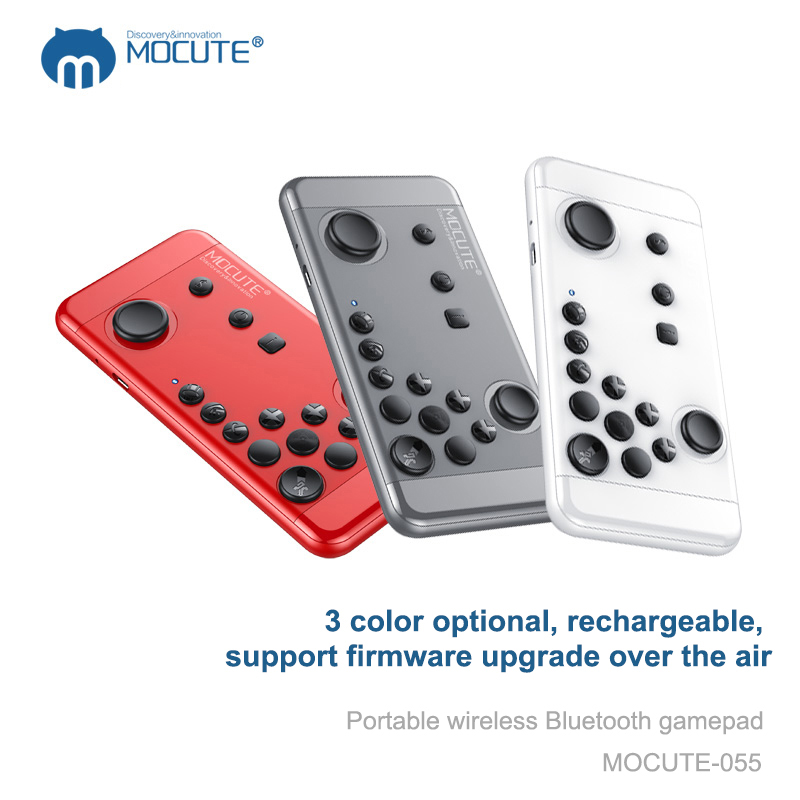 MOCUTE 055 Joystick wireless Bluetooth Controller Remote Control <font><b>Game</b></font> <font><b>pad</b></font> for IOS Android <font><b>Phone</b></font> Tablet PC High Quality