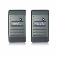 2pcs Access Control Proximity For RFID Card Reader Wiegand 26 34 EM ID 125KHz Reader ABS