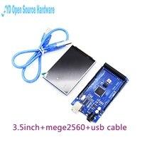 3 2 Inch TFT LCD Module Ultra HD 320X480 MEGA 2560 R3 Board USB Cable