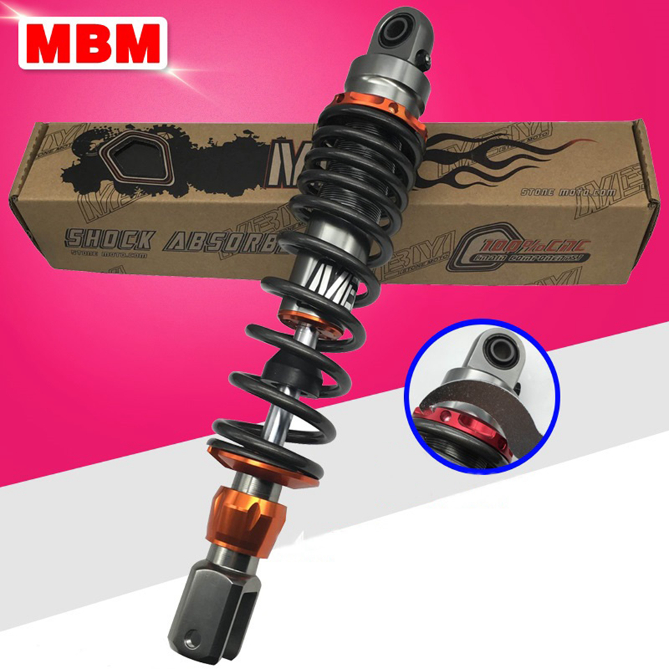 Universal 320mm Motorcycle Rear Shock Absorbers Modified Moto Parts for Yamaha Forcex RSZ JOG CYGNUS FY100T Honda Kawasaki BMW keoghs motorcycle front shock absorbers front fork tube suspension 26mm 27mm for yamaha scooter jog rsz force