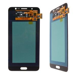 Image 4 - מקורי 5.5 סופר Amoled LCD עבור סמסונג גלקסי J7 2016 J710 J710F J710M J710G LCD תצוגת מסך מגע Digitizer החלפה