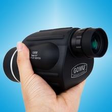 Handheld 13x50 Hunting Monocular Waterproof Telescope HD114M 1000M Monoscope Spyglass font b Rangefinder b font Eyepiece