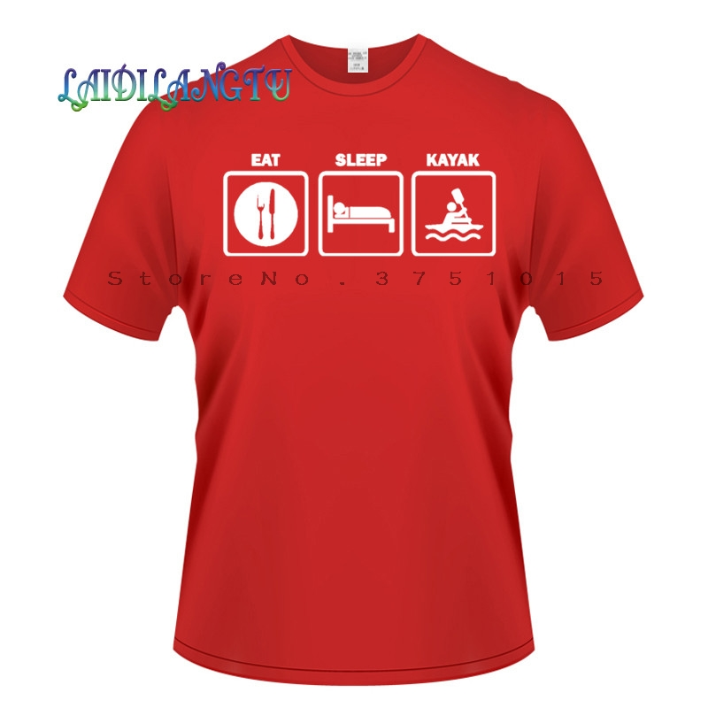 3D Printed T-Shirts Canoeing Short Sleeve Tops Tees
