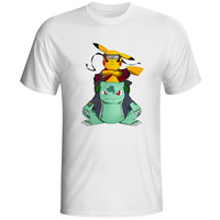 EATGE Fashion New Design T Shirt Pokemon Pikachu In Thor Armor Funny Cool T Shirt