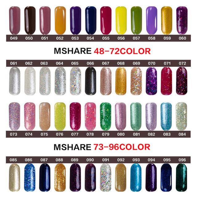 Nail Art Diamond Polish UV Gel