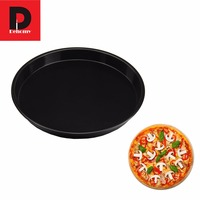 Dehomy 6 Inch Pizza Pan Preferred Non Stick Pizza Plate Round Cake Mold High Duty Carbon