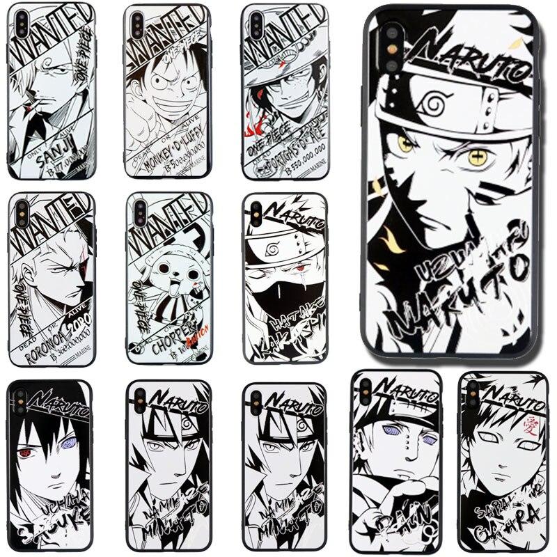 Naruto One Piece Anime Phone Case For xiaomi redmi Mi 8 5 5X 5S 6 plus mix 2 max 2 Note 3 4 4X 4A 4 pro 5 5A cover shell Coque