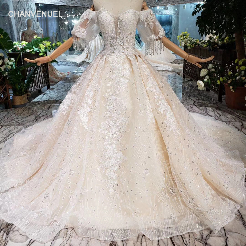 2019 Wedding Dresses With Sleeves: Aliexpress.com : Buy HTL205 Bohemian Wedding Dresses 2019