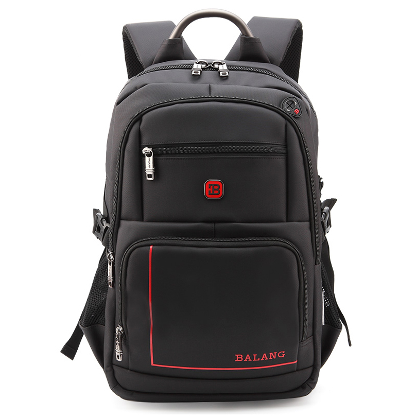 BALANG Brand Men's Laptop Backpacks for 15.6 inch Travel Bags School Waterproof Bags USB Charging Port Large Capacity Backpacks