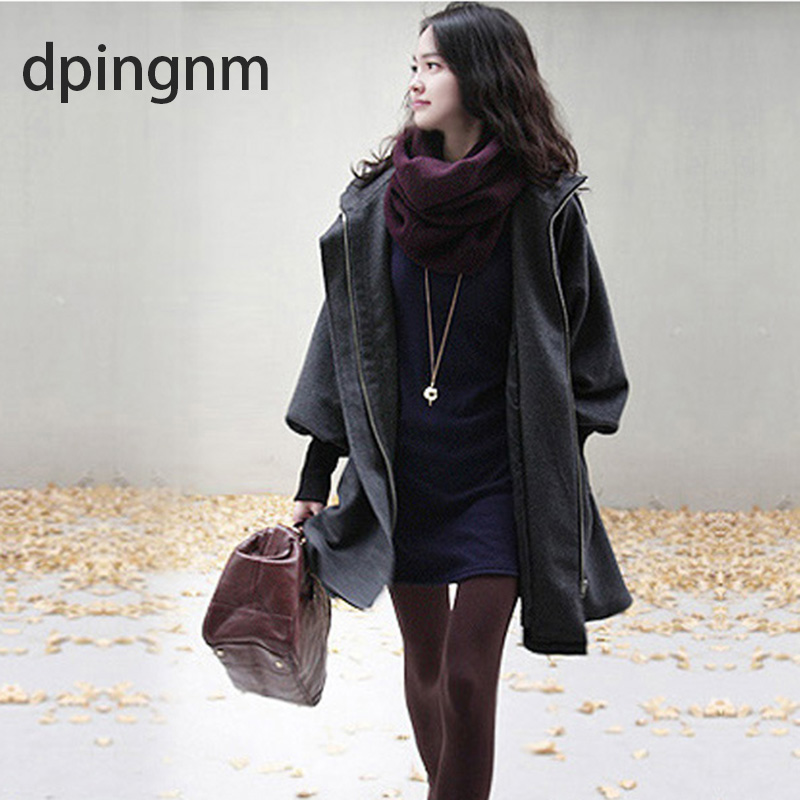 06bea969172 dpingnm Autumn Winter Trench Coat for Women Adjustable Waist Slim Solid red Coat  White Long Trench Female Outerwear ...