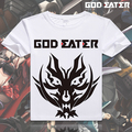 New god eater short Sleeve T-shirt tshirt t shirt Anime Casual Men Women summer Clothes Tops Tees plus