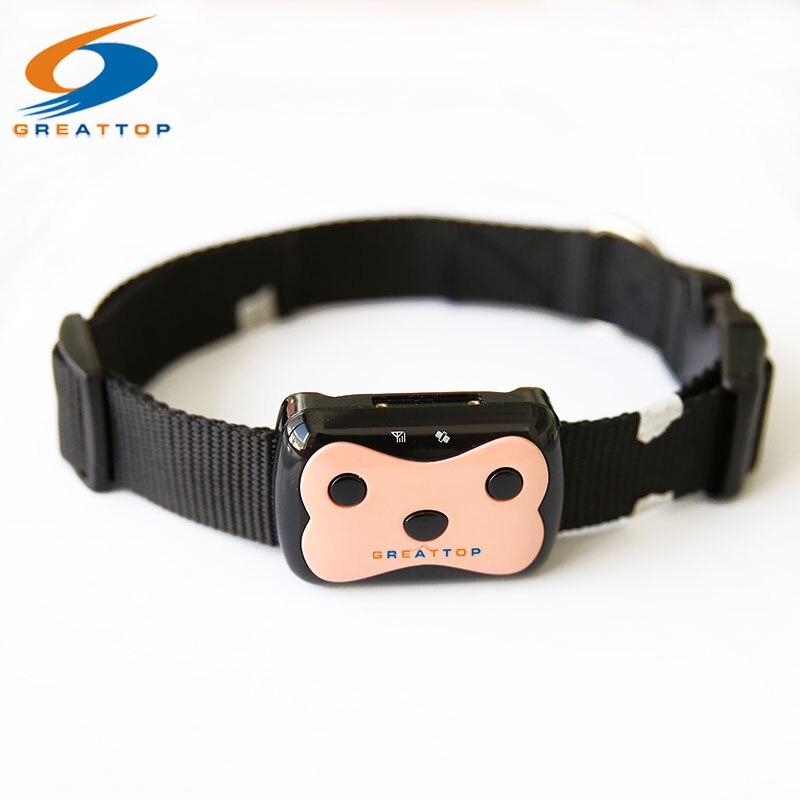 Мини Pet GPS трекер Водонепроницаемый Smart GPS трекер с воротником для домашних животных кошка собака GPS + LBS расположение бесплатное приложение с...