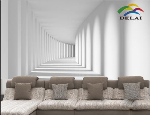 3d Effect Wallpaper For Living Room Aliexpress Com Buy Mo 1256 White Wall Background 3d Wall
