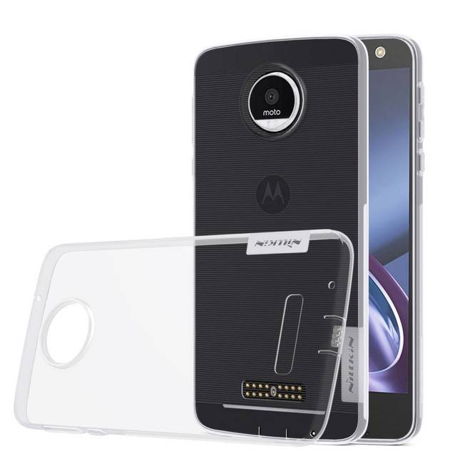 Case For Motorola MOTO Z ( XT1650 ) NILLKIN Nature TPU Transparent Clear Case Soft Back Cover Cases For Motorola XT1650 MOTO Z