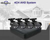 Hiseeu AHD 4 Channel Cctv System 4CH Mini DVR For CCTV Kit XMEYE 1200TVL 720P IR