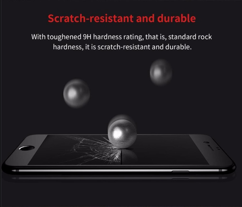 Suntaiho Anti-Fingerprint Frosted 5D Tempered Glass for iphone XS MAX XR XS X 6S 8 plus 7 plus Matte Full Cover Screen Protector
