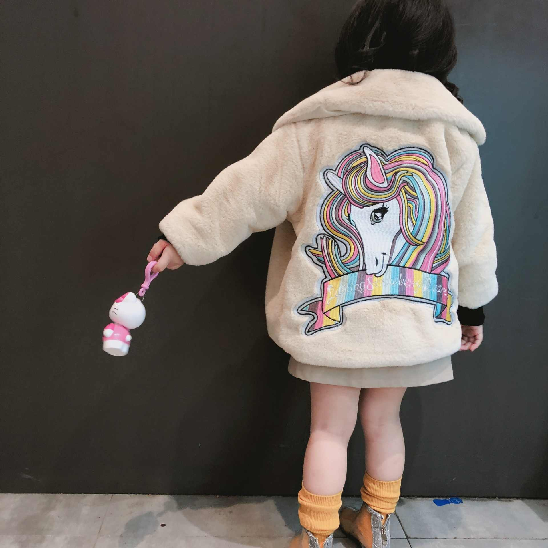 70ba7448c487 Detail Feedback Questions about Unicorn Coat Girl Winter Warm ...