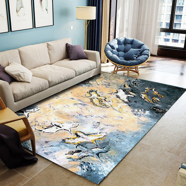 Ink Abstract Carpets For Living Room Unique Design Carpet Bedroom Home Sofa  Coffee Table Rug Rug