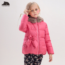 2019 Baby Girl Winter Coats And Jackets Down Duck Coat Thicken Hooded Kids Children's clothing Cotton-padded Parkas недорго, оригинальная цена