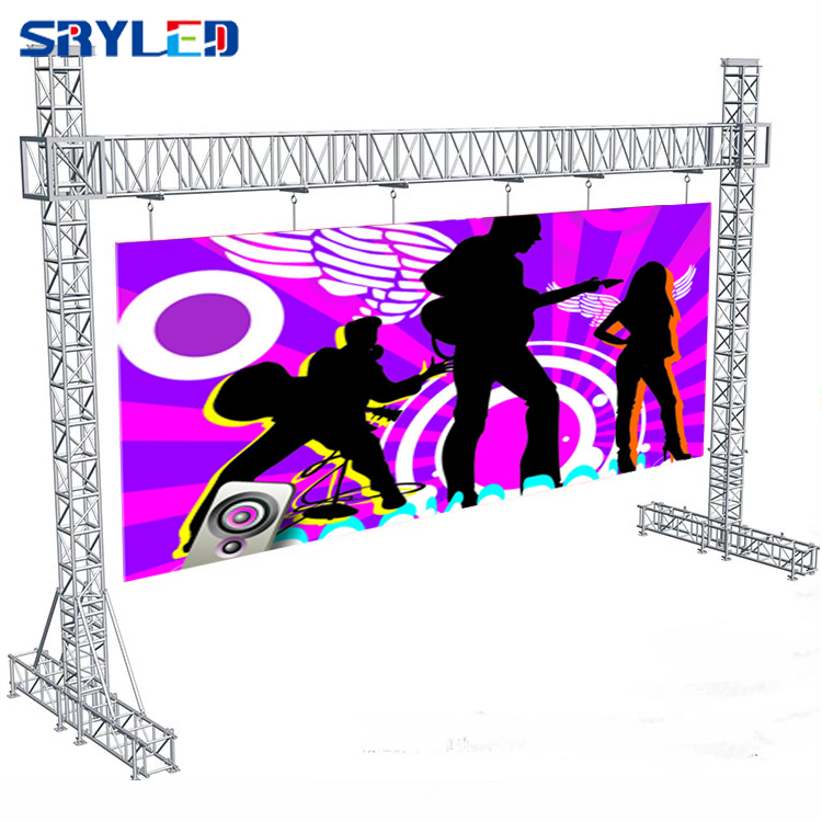 Image 5 - SMD2121 Indoor P3.91 Rental Stage Led Display 500mm x 500mm Led Video Wall Panel Screen For Church With Black Light-in LED Displays from Electronic Components & Supplies