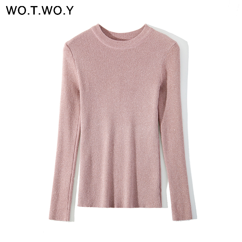 Bottoming Knitted Pullovers Women