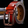 20151018  men fashion jeans pin buckle tOP  genuine Leather Belts