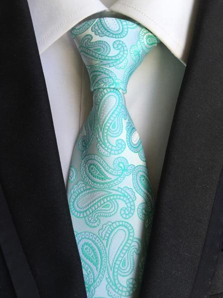 módní kravata pánská obchodní příležitostná kravata kešu - Příslušenství pro oděvy