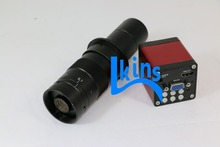 13MP HMID VGA outputs Industry Microscope Camera+180X C-mount Lens Glass for Industry Microscope Camera Eyepiece Magnifier