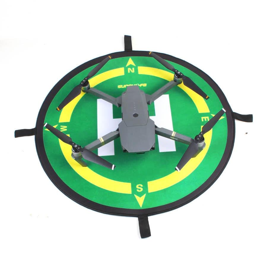 Waterproof Cloth Foldable Portable 50cm Landing Pad Helipad For DJI Phantom 4 3 Inspire 1 Mavic Pro Landing Pad