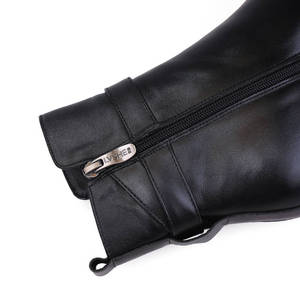 Image 4 - MORAZORA 2020 Genuine Leather Natural Wool Winter Boots fashion ankle boots women platform boots high heels snow boots female