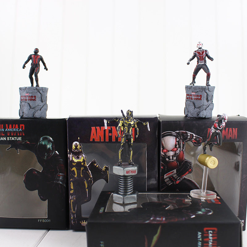 1pcs 6cm Anime Figures Ant Man Hornets Warrior Action Fugires Doll Model font b Toy b
