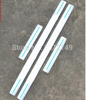Stainless steel inside Door Sill Scuff Plate panel kick step protector threshold For range rover sport 2008 2012