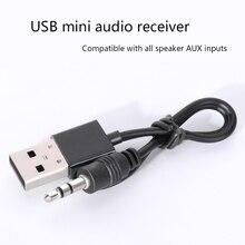 Car accessories Bluetooth Adapter USB Mini Audio Receiver 3.5 AUX Bluetooth Receiver Wireless Bluetooth Stereo car speaker цена