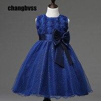 Cheap Lovely Flower Girl Dress Tutu Style Princess Kids Dresses Clothing 8 Colors Kids Party Dress