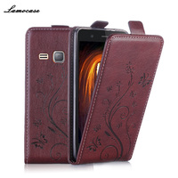 Luxury Leather Case For Samsung J1 2016 Case For Samsung Galaxy J1 2016 J120 J120F SM