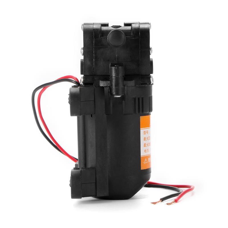 Hoge Druk 70 PSI 60W 12V Auto Waterpomp Membraan Zelfaanzuigende Waterpomp Wasstraat Sproeier voor waterzuiveraar Drukregelvat