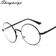 eee57b4a0f3871 Fashion Nieuwe Retro Ronde Mens Womens Nerd Bril Clear Lens Eyewear Unisex  Retro Brillen Brillen Unisex Oculos