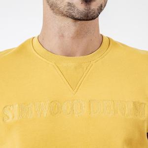 Image 4 - سترة رياضية جديدة للربيع من SIMWOOD برقبة على شكل حرف o للرجال مطرزة ذات جودة عالية ملابس أصلية 190121
