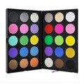 Profissional 30 Full Color Shimmer Matte Eyeshadow Makeup Palette Double Layer Quente Sombra Em Pó Cosméticos Definir Kit
