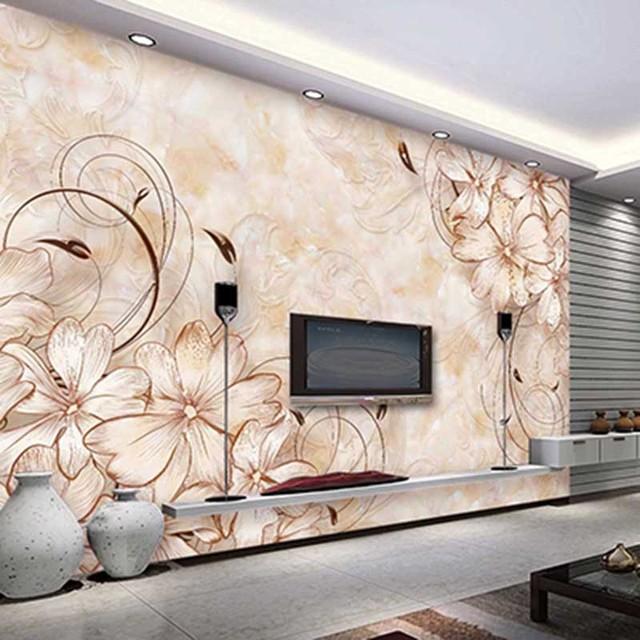 Hd Pastorale Style Peinture Murale Personnalise Papier Peint