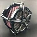 Motocicleta CNC de Ferro Artesanato Air Filter Cleaner Intake para Harley Sportster XL 883 1200 48 72 2004-2015
