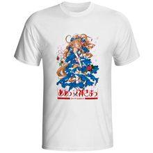 Belldandy T Shirt Oh My Goddess Design Style Novelty T-shirt Cool Pop Skate Unisex Tee