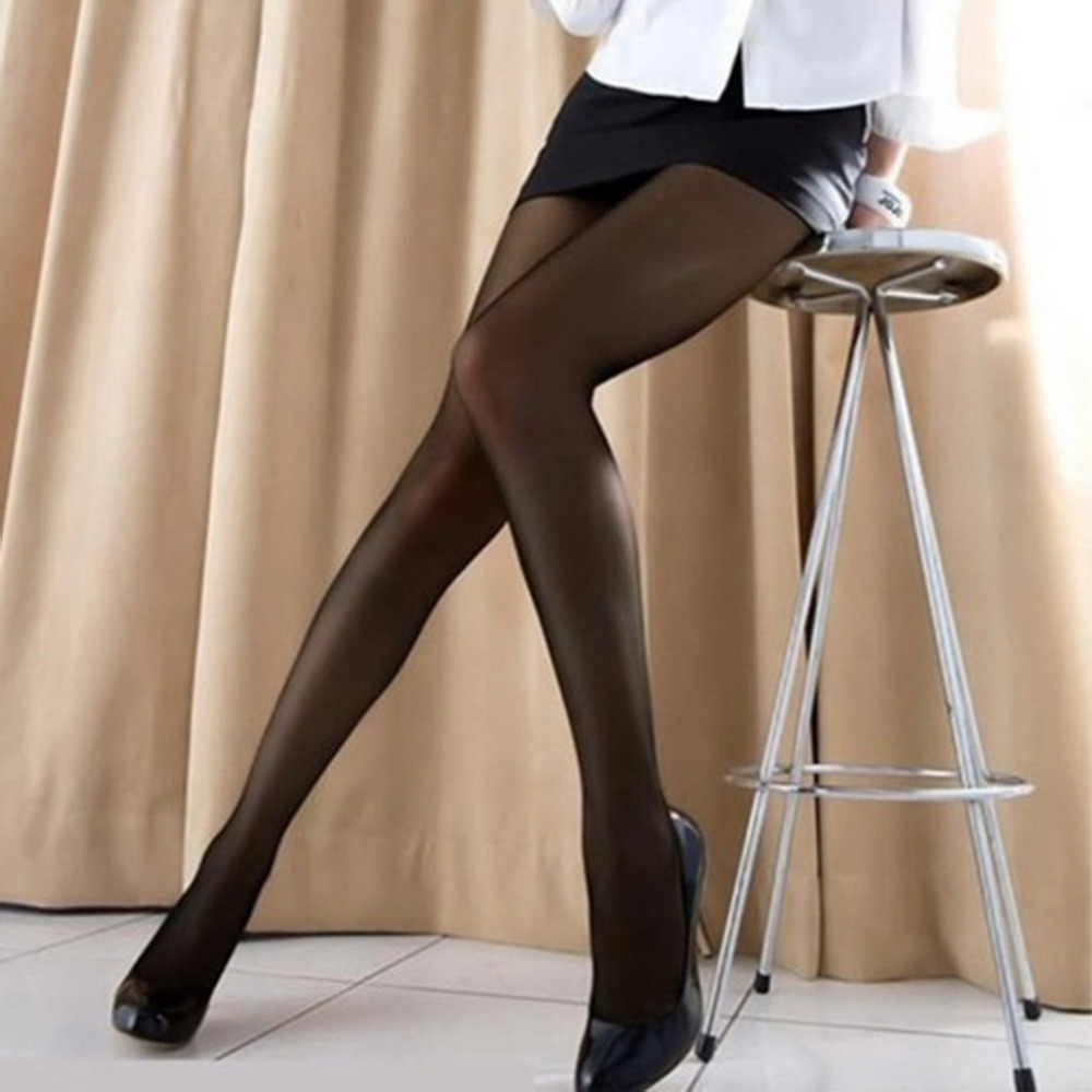 2017 Fashion Summer Solid Stockings Womens Ladies Soft Stretch Nylon Pantyhose Tights Sexy Girls Stockings Black
