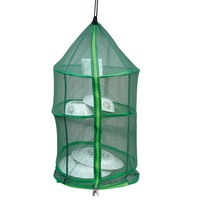 Hot Sale 4 Levels Outdoor Kitchen Dish Hanging Dry Net Folding Hanging Vegetable Fish Dishes