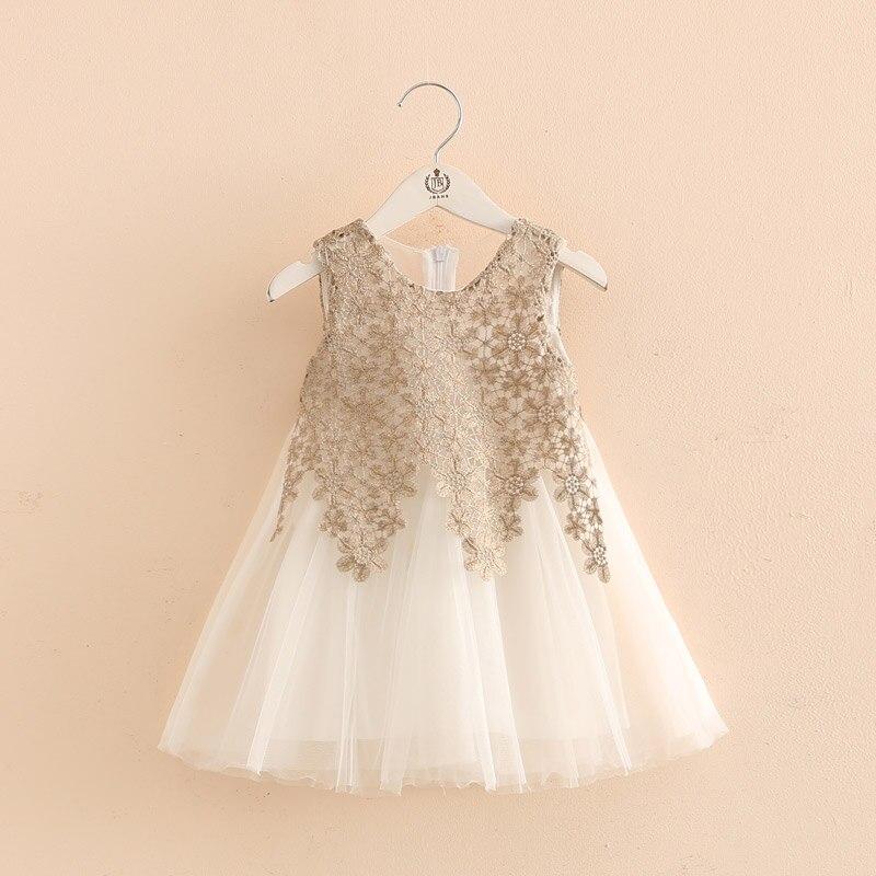 ed6d13fc2f6cde9 2018 новое летнее кружевное платье без рукавов для девочек, платье принцессы  для маленьких девочек 2-6 лет, детская одежда, детский праздничный.