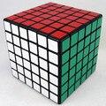6 x 6 x 6 Shengshou Cubo mágico de alta velocidade enigma preto e branco e rosa de aprendizagem e de ensino Cubo magico brinquedos