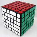 6x6x6 Shengshou high speed Magic Cube Puzzle Black And White And Pink Learning&Educational Cubo magico Toys