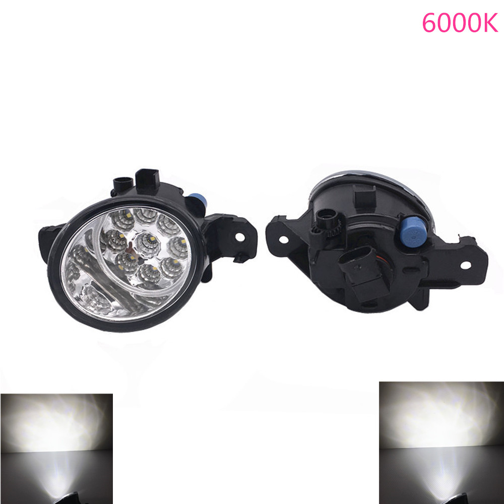 2X H11 Halogen Fog Light Left + Right Car Styling <font><b>Led</b></font> Fog Light For <font><b>Renault</b></font> <font><b>Modus</b></font> 2004-2008 2009 2010 2011 2012 2013 2014 2015 image