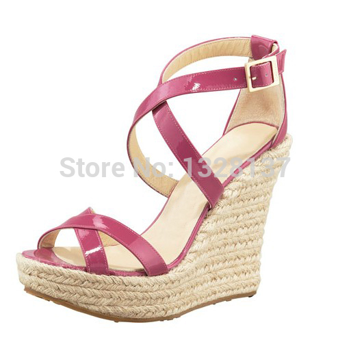Popular Hot Pink Wedges-Buy Cheap Hot Pink Wedges lots from China
