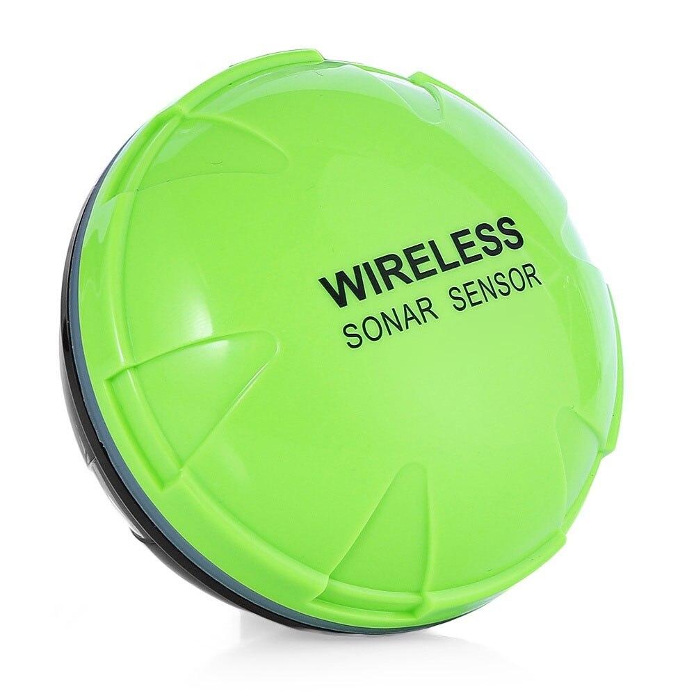 WiFi Wirele Bluetooth Smart рыбопоисковый сонар IOS Android смартфон рыболокатор Shore планшет лодка 125 кГц озеро 36 м приложение море - Цвет: green